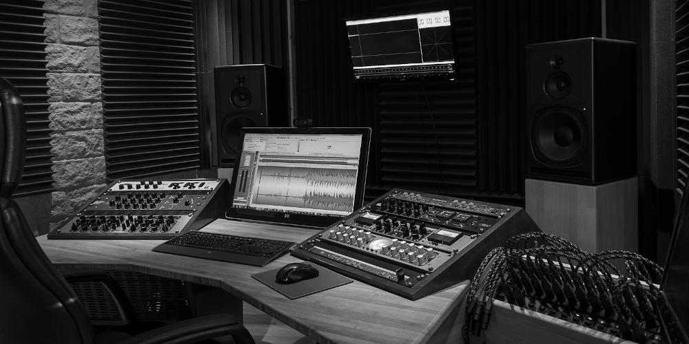 La régie du FreeSon Audio Mastering